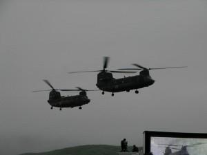 輸送ヘリ「チヌーク」
