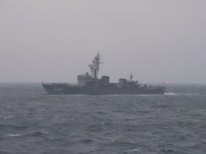 小型護衛艦「あぶくま」
