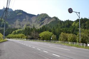 千枚田・通り峠入口バス停からの風景