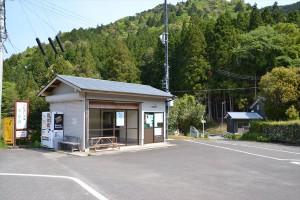 千枚田・通り峠入口の観光案内所?