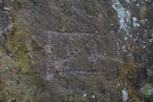 石垣用石材の刻印