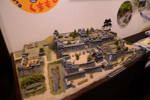 ジオラマ-熊本城