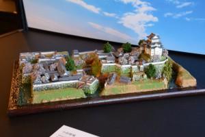 お城のジオラマ-小田原城 その一