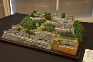 お城のジオラマ-和歌山城