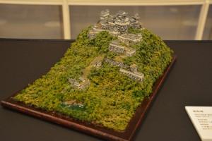 お城のジオラマ-高取城 その一