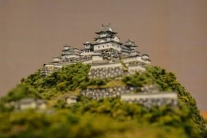 お城のジオラマ-高取城 その二