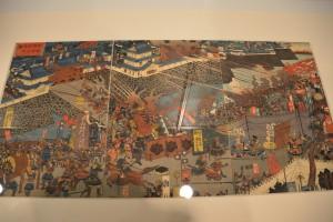 城郭の浮世絵展-名将諸国を征伐之図 その一