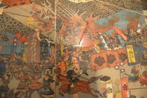 城郭の浮世絵展-名将諸国を征伐之図 その二