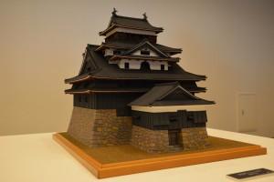 現存十二天守模型展-松江城