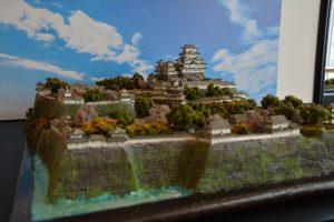 お城のジオラマ-姫路城 その一