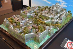 お城のジオラマ-姫路城 その二