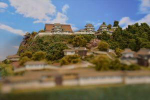 お城のジオラマ-仙台城 その一