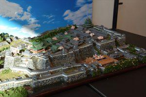 お城のジオラマ-江戸城